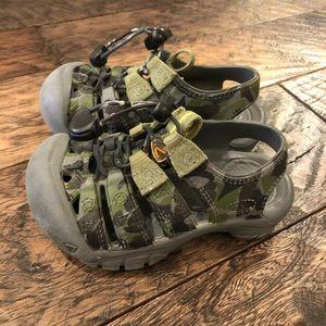 Keen Toddler Camo Shoes